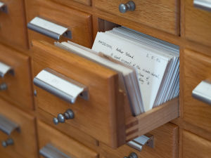 How the library books are catalogued